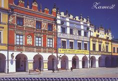 Zamosc was founded in the 16th century by the chancellor Jan Zamoysky on the trade route linking western and northern Europe with the Black Sea.