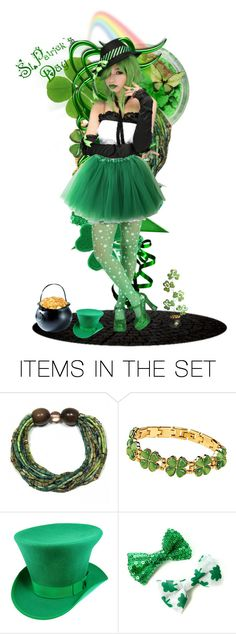 """Happy st.patricks day"" by purplez ❤ liked on Polyvore featuring art"