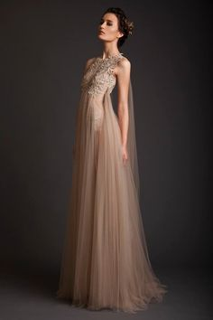 Krikor Jabotian Spring / Summer 2014 Prom and Gown Collection - Dress 04