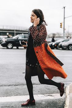 statement coat: Who's to say a timeless investment means a boring investment?