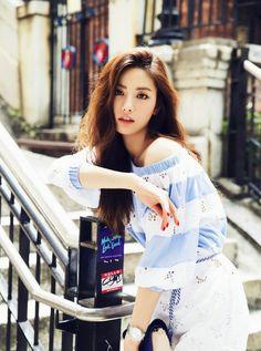 Nana is a long-legged beauty for 'ONE' magazine + talks about her resemblance to Lee Jong Suk Hot Girls, Asian Woman, Asian Girl, Nana Afterschool, Im Jin Ah, Kiko Mizuhara, Most Beautiful Faces, Beautiful Images, Beautiful Women