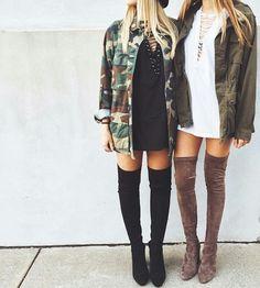 Imagem de fashion, girl, and jacket