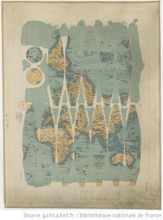 Globe universel astronomique à longitudes variables et latitudes indépendantes 1890