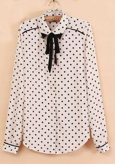 http://www.cichic.com/white-polka-dot-bow-lapel-long-sleeve-chiffon-blouse.html