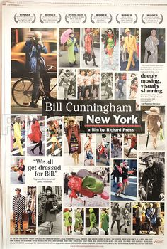 Posteritati - Bill Cunningham New York