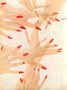 Nail colours, 1952.