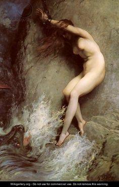 British Paintings: Andromeda - Gustave Dore
