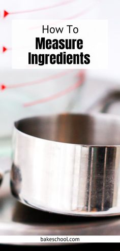 The tools and methods you use to measure ingredients for baking can make or break a recipe simply because baking requires a little more precision and accuracy than cooking does. Baking Hacks, Baking Tips, Baking Recipes, Baking Science, Food Scale, Pour Over Coffee, Good Grips, Grocery Store