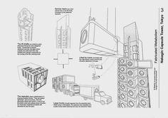 Analizan la demolición de la 'futurista' Torre Nagakin | Aprender Autocad / Revit / Photoshop / Excel Gratis!
