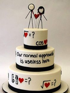 Wedding cakes for geeks - they are so amazing you must have a look at this site - fabulous!