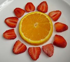 Looking for a healthy preschool snack that starts with the letter S! This SUN will do!