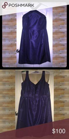 5507ea83fba J. Crew Wedding Collection Whitley Dress  76715 Dark Pacific Blue chic  little shift dress