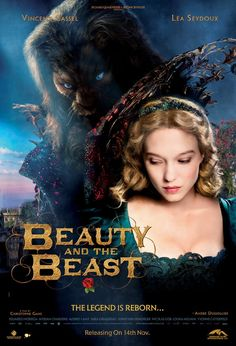 Beauty and the Beast 2014 تدور أحداث الفيلم حول تَفتُح قصة حب غير متوقعة بين الجميلة الشابة بنت التاجر الكبير الذي يمر بأيام صعبة، حيث عرضت نفسها على الوحش