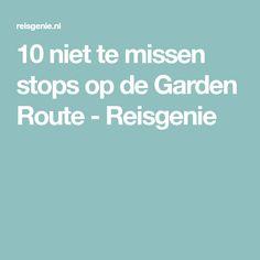 10 niet te missen stops op de Garden Route - Reisgenie