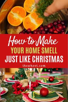 Learn how to make your home smell like Christmas. This trick will ensure that your celebrations are truly unforgettable. Christmas Tree Scent, Christmas Lunch, Christmas Balls, Christmas Home, Christmas Ideas, Xmas, Natural Christmas, Christmas 2019, Christmas Recipes