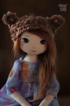 Teodora – roma bieszczadzka, handmade doll by romaszop