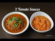 2 Tomato Sauces (2 Dallac Bilaash) 2 Sauces Tomate نوعين من صلصة الطماطم   Xawaash.com