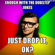 Advice Skrillex - who's corey feldman? Well, he's not my dad Create Your Own Meme, Dead Mau5, Marching Band Memes, Corey Feldman, Funny Memes, Hilarious, Music Memes, Dance Memes, Smosh