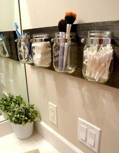 How to Create a Mason Jar Organizer