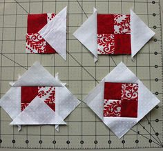 Nordic Mini QAL, Row 3 - The Crafty Quilter