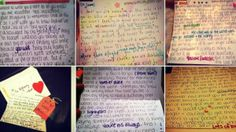 25-year-old British woman having suicidal thoughts after suffering a mini-stroke, has written nearly 3,000 letters to people in 30 different countries in need of a pick-me-up