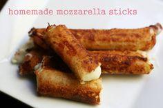 Cheap Recipe Blog » Wonton Wrapper Mozzarella Sticks Recipe