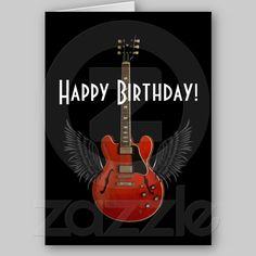 You Totally Rock! Birthday Card from zazzle.com/stevebrownleeart