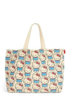 HELLO KITTY BAG Kitten the Road Tote, #ModCloth