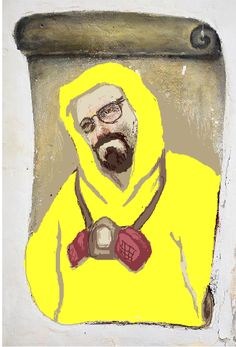 """Really nice """"Ecce Heisenberg"""" by @outomuro"""