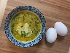 Egg curry in a coconut based gravy