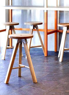 Three-legged stools