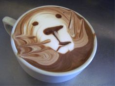 """what kind of espresso coffee which called latte art ? Probably not many people who never heard the word """"Latte Art"""" but as Coffee Lovers wo. Café Latte, Coffee Latte Art, I Love Coffee, Best Coffee, Coffee Break, My Coffee, Lion Coffee, Coffee Shops, Drink Coffee"""