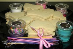 Whip it Good Cookies: kids baked cookie decorating party