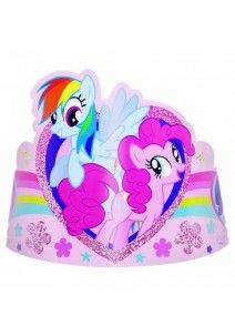 My Little Pony ja ystävät tiara 8 kpl/pkt