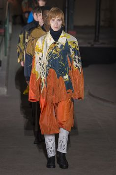 Dries Van Noten Fall 2018 Menswear Fashion Show Collection