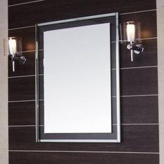 700 x 500 Wilford Bathroom Mirror featuring a beveled edge complete with a clear glass frame and decorative border. Decor, Glass Frames, Decorative Borders, Amazing Bathrooms, Glass, Clear Glass, Bathroom Renovation, Mirror, Illuminated Mirrors