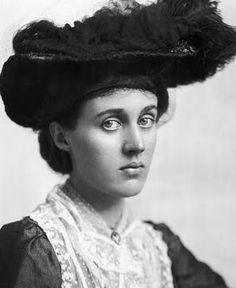 "Vanessa Bell, an English painter, interior designer, member of the Bloomsbury Group, and the sister of Virginia Woolf. ""Vanessa Bell's significant paintings include Studland Beach (1912), The Tub (1918), Interior with Two Women (1932), and portraits of her sister Virginia Woolf (three in 1912), Aldous Huxley (1929–1930), and David Garnett (1916).  She is considered one of the major contributors to British portrait drawing and landscape art in the 20th century."""