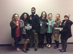 This group from Advise Texas TAMU escaped from Classified in 57 minutes!