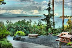 Beautiful view from Tigh-Na-Mara in Parksville on Vancouver Island - photo by Neil Zeller