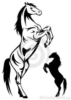 Illustration about Rearing horse illustration - black and white outline. Illustration of farm, design, full - 19654877 Outline Drawings, Horse Drawings, Tattoo Caballo, Horse Outline, Horse Stencil, Horse Tattoo Design, Horse Rearing, Horse Illustration, Cut Animals