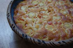 Clafouti with coconut flour