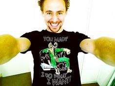 Tom Hiddleston is adorable.