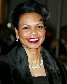 Condoleezza Rice is the second woman to be US Secretary of State, after Madeleine Albright who held the post during Clinton's administration.