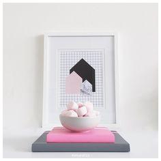 Pink + Black + Grey | Stationery and Styling instagram.com/mintandfizz #pink #grey #black #stationery #kikkik