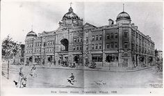 Image of the Opera House from the 1902 opening souvenir.