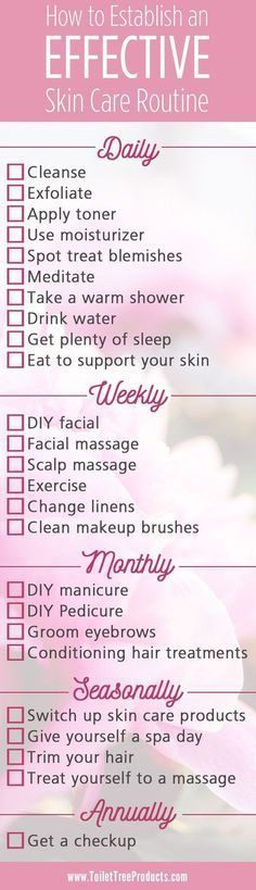 Healthy Habits Skin Care Routine