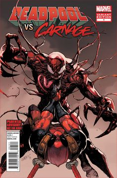 COMICS: Marvel Releases Gory Lettered Preview Of DEADPOOL VS. CARNAGE #1