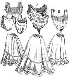 Maids Undergarments