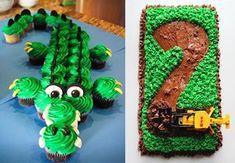 10 utrolige kaker for gutter (og tøffe jenter) Toffee, Avocado Toast, Cake, Food, Google, Kids, Tractor, Sticky Toffee, Young Children