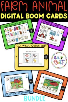 BOOM CARDS. OCEAN ANIMAL BUNDLE(AAC, PICTURE EXCHANGE, SPEECH THERAPY). INCLUDES 5 LESSONS.  Please click on this pin for a full description and preview in my TPT store. A great speech therapy activity for ocean animal themed lessons.#speechtherapy #speechtherapyactivities #languagetherapy #teacherspayteachers #slpbritt #slpsontpt